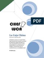 Recetas Para La Caja China Del Chef Luca 1.1