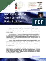 Carlos de la Rosa Vidal - Cómo Escribir en Redes Sociales