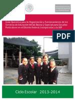 Guia Operativa Para Org Func Escuelas Particulares-2013-2014