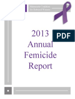 2013 Femicide Report
