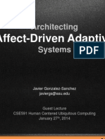 Architecting Affect-Driven Adaptive Systems