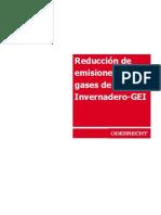 Desarrollo Proyecto_ Reducción emisiones GEI