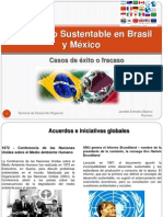Desarrollo Sustentable en Brasil y México.casos de ésito pptx