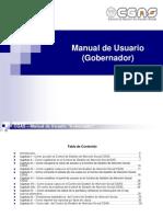 Manual de Usuario Gobernador