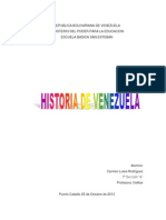 Trabajo de Carmen Luisa de Historia