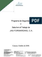 Programa de Seguridad PORTADA E INDICE
