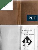 00001libros cocina antiguos - el maitre d´hotel y el arte de la cocina moderna de michel lanzani & jose sarrau de 1929.pdf