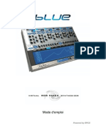 RP BLUE Manual v1.7 French
