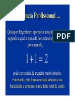 1+1=2 Para Engenheiros