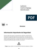 Lenovo C2&C3 Series User Guide V1.0(Spanish)
