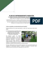 Laister Plan Entrenamiento Maraton