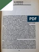 El Desexilio Mario Benedetti