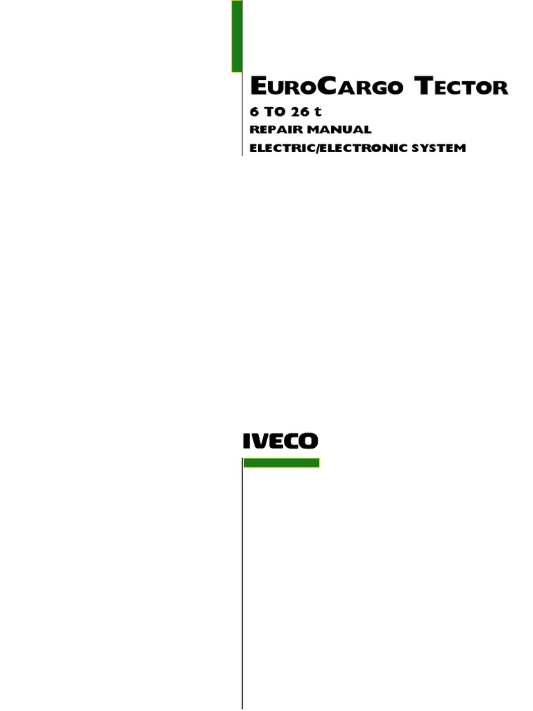 Eurocargo Tector 6-26t electronic system.pdf | Electrical ...