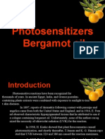 Photo Toxicity in Bergamot Oil