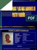 LOS MAS PELIGROSOS DELINCUENTES DE PASTO Y NARIÑO