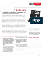Avaya 9608 IP Deskphone - Fact Sheet