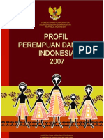 Profil Perempuan dan Anak Indonesia Tahun 2007