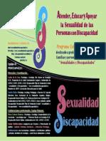 Triptico Sexualidad y Discapacidad. Nv 2010.Web 1