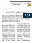 Prevention of Biodeterioration of Crude Oil in Tanks Using Anti-Microbial Agents