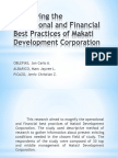 Magnifying the Operational and Financial Best Practices Of