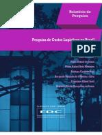 Relatório Pesquisa Custo Logístico no Brasil