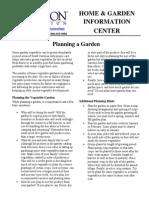 Clemson Planning a Garden