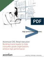 Accenture CAS Retail Execution
