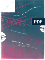 Malabou Catherine Plasticity at the Dusk of Writing