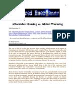 Affordable Housing vs. Global Warming