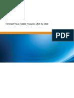 Forecast Value Add Technique FVA