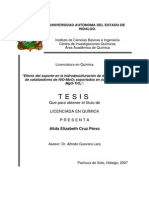 Efecto Soporte Hidrodesulfuracion Del Diesel