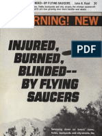 Injured, Burned, Blinded -- By Flying Saucers by John A. Keel