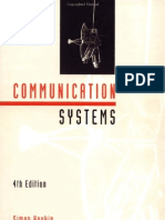 Communication Systems by Symon Hikin