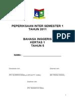 BIyr5 P1 Inter-sem1 2011