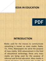 Mass Media in Education