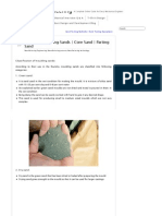 Types of Moulding Sands _ Core Sand _ Parting Sand _ Mechanical Engineering