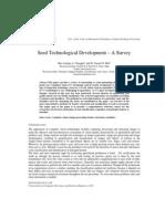 Seed Technological Development – A Survey