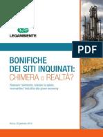 Dossier Legambiente - Le Bonifiche in Italia 2014[1]