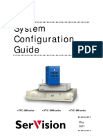 SerVision - [System Configuration Guide v8.3 May 2007]