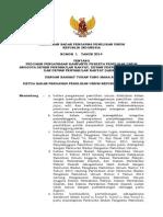 PERBAWASLU 1 Thn 2014 Ttg Pedoman Pengawasan Kampanye Pileg