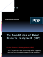 Hr m Overview