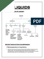 Innovation in Oral Liquids