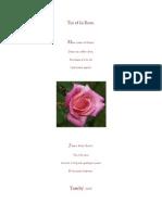 Toi et la Rose