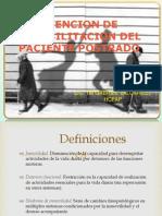 Sindrome de Inmovilidad LIC TM VALCARCEL