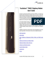 TM402 User Guide