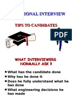3 - Tips For Professional Engineer Interview in Malaysia