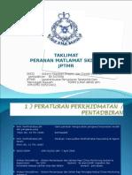 TAKLIMAT SKDD-JPTMR