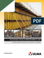 Enconfrado Vertical Enkoform v-100_ulma