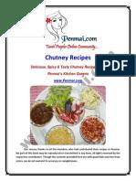 Penmai Chutney Recipes eBook