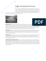 Activated Sludge Treatment Process